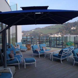 Salcombe Harbour Hotel Umbrellas