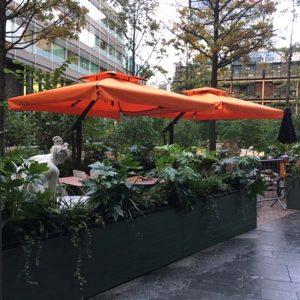 Cafe Umbrellas - Poggesi