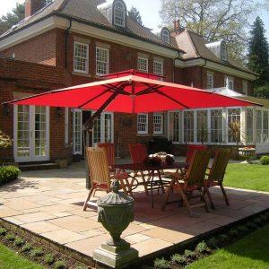 4m x 3m Cantilever Garden Umbrella Ascot