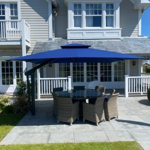 Poggesi Navy Blue Umbrella
